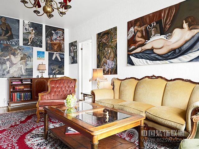 磅礴大气 10款欧式古典客厅装修效果图