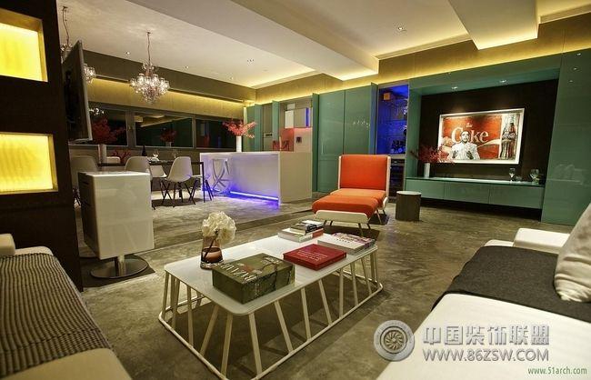 香港现代式完美酒店公寓案例欣赏