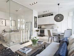 十款创意玻璃隔断墙 家居隐约的美