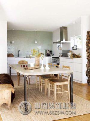 恋家恋厨房 7款木质环保厨房设计