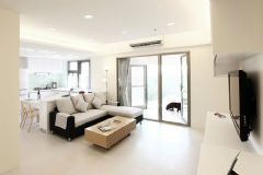 95平米素净简约二居室装修案例
