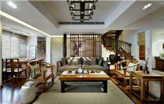 杭州286平米中式风韵别墅案例欣赏