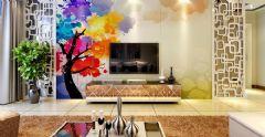 独一无二手绘墙 完整你的家居梦想