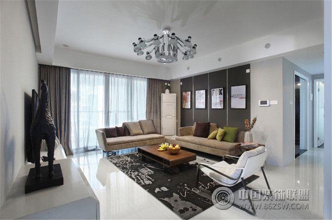 西安华清学府城130㎡现代三居装修案例