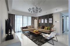 西安華清學府城130㎡現代三居裝修案例