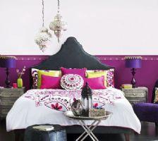 浓妆艳抹的东南亚风格卧室你HOLD得住吗?