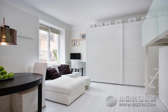 30平米麻雀屋 颠覆你对小面积公寓的印象