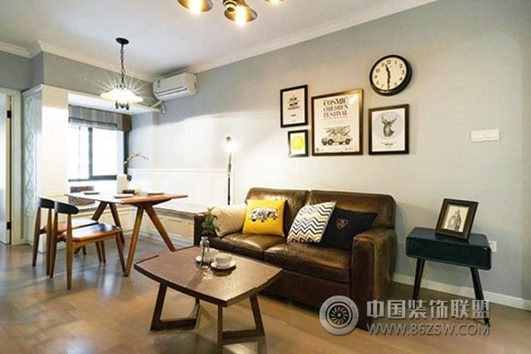 单身小资女的80平米清新北欧公寓