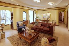 成都以勒设计出品160㎡美式休闲住宅