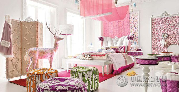 給最愛的她一個公主般的臥室吧!