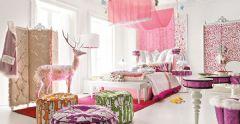 给最爱的她一个公主般的卧室吧!