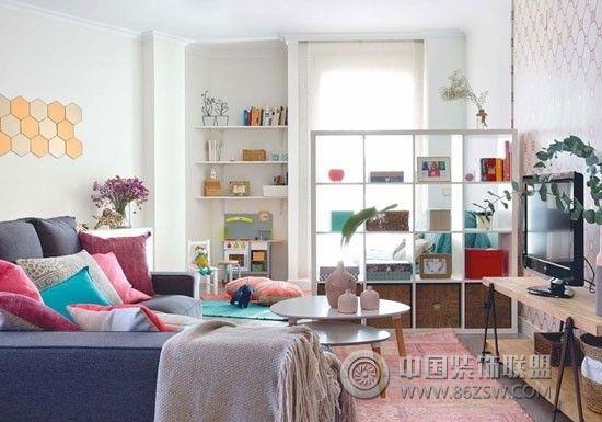 重返童年 63平米繽紛色彩公寓設計