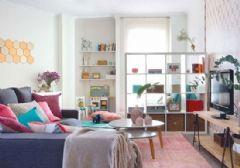 重返童年 63平米缤纷色彩公寓设计