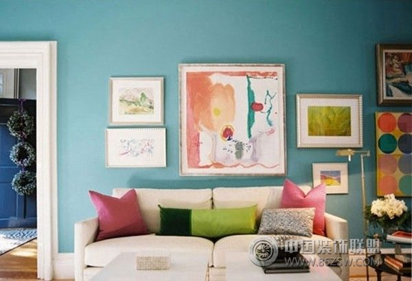 让宾客傻眼的客厅色彩搭配方案
