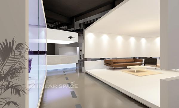 展厅设计图片欣赏-单张展示-办公室装修效果图-八六()