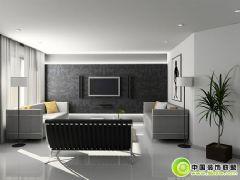 灰色经典客厅