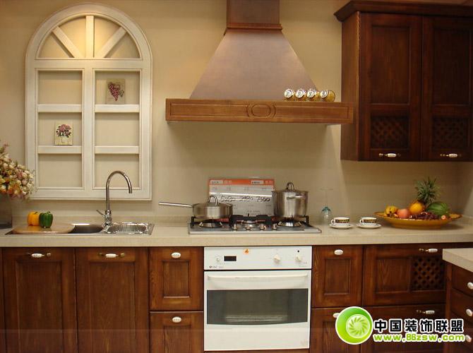 欧式厨房效果图整套大图展示