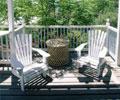田园风格木质阳台