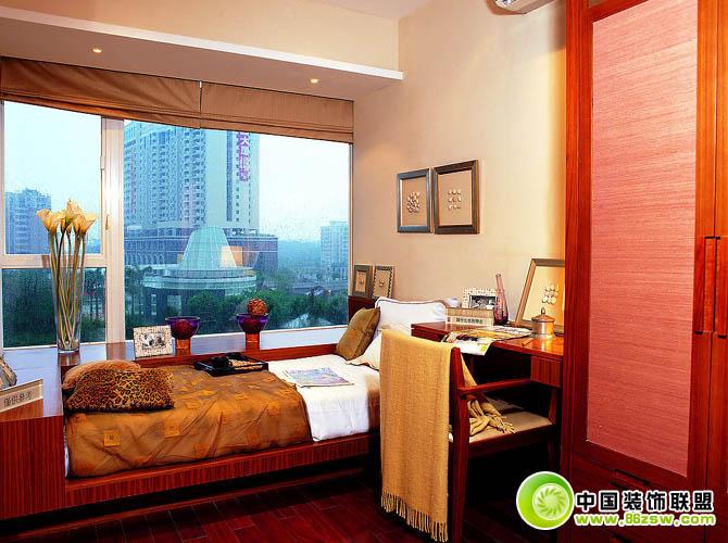 卧室效果图展示-餐厅装修效果图-八六装饰网装修效果