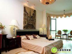 卧室效果图展示中式风格卧室装修图片