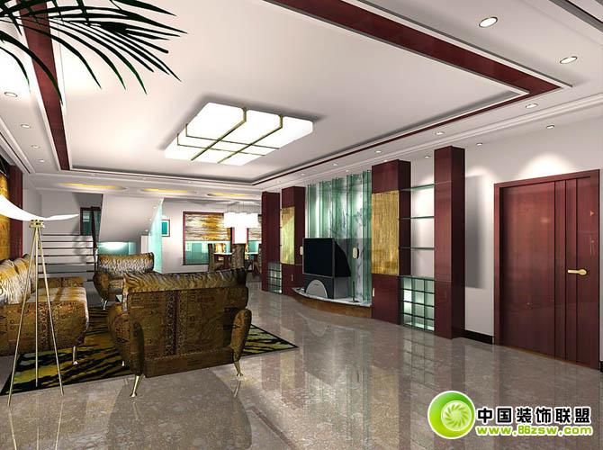 大型客厅装修效果图