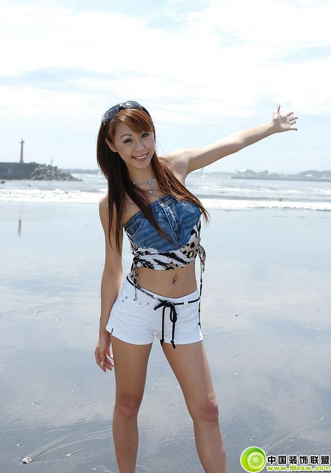 海滩美女自拍 装修效果图 www.86zsw.com -海滩美女自拍 装修图片