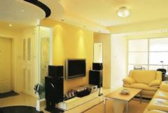 5万装修现代86平米2居室别墅