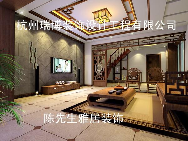 中式客厅案例中式风格大户型