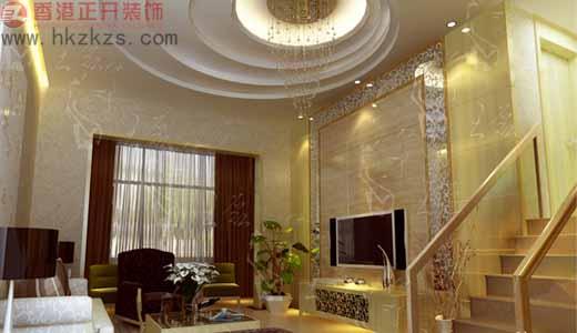 香港正开经典作品之客厅设计现代风格小户型