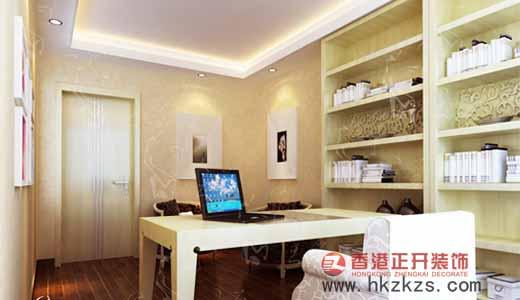 香港正开经典作品之书房设计现代风格小户型