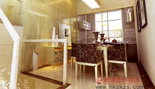 香港正开经典作品之餐厅设计现代风格小户型
