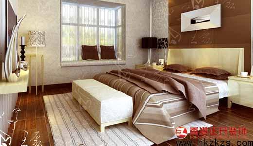 香港正开经典作品之卧室设计现代风格