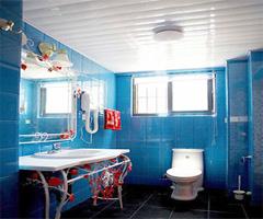 蓝色的完美搭配地中海风格