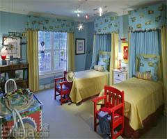 给孩子一个属于自己的彩色小天地 - 儿童房