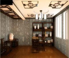 古典之美 后现代主义中式书房装修