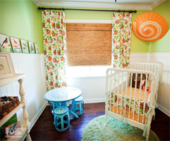春天溜进屋 清新色彩美丽的家 - 儿童房