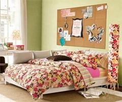 都市女人最爱花朵床品 让卧室阳光起来 - 简约田园风格