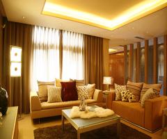 暖意绵绵-现代客厅