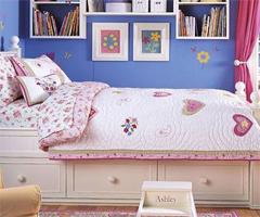 终极甜蜜公主屋满足所有女生梦想 - 儿童房现代风格小户型