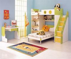 色彩斑斓的儿童房设计,让孩子有一个美丽的童年 - 儿童房