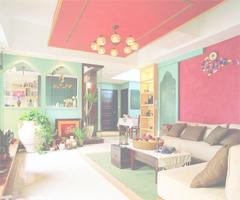 绝丽异域风情 东南亚风格混搭婚房