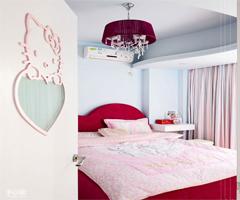 粉色的梦幻空间