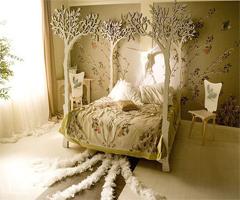 唯美公主卧室