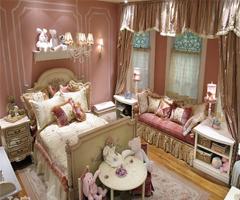 温馨华美的炫目卧室