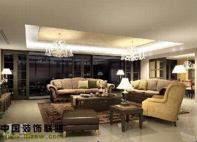 欧式奢华 整套大图展示 现代风格装修效果图 八六装饰网装