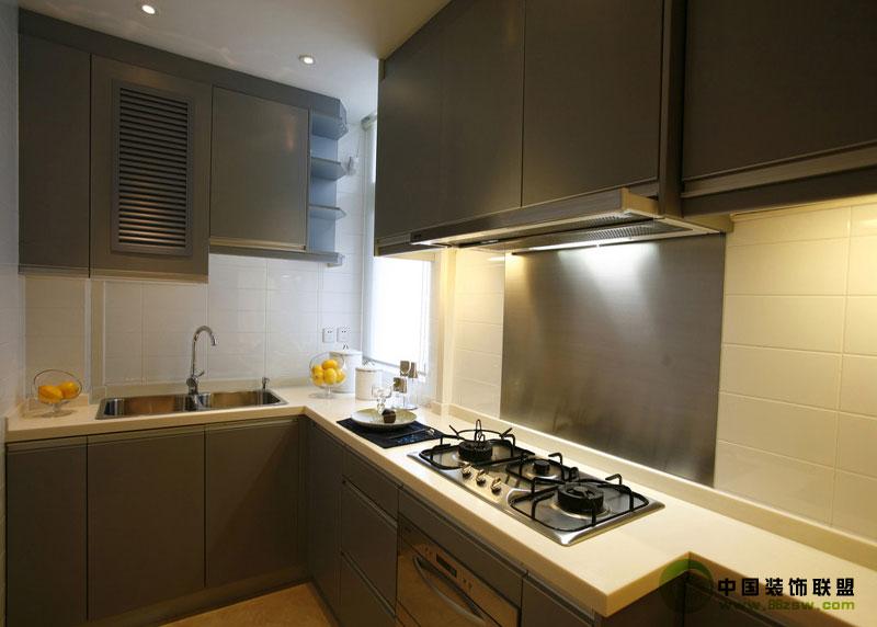 现代厨房细节-厨房装修图片