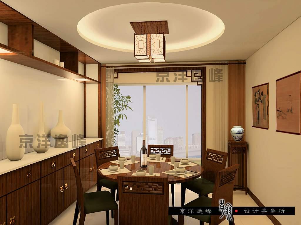 现代中式别墅装饰中式风格别墅
