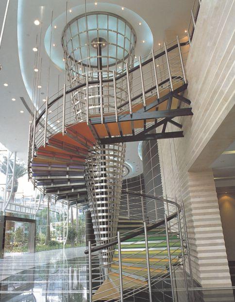 御迪室内楼梯装修现代风格