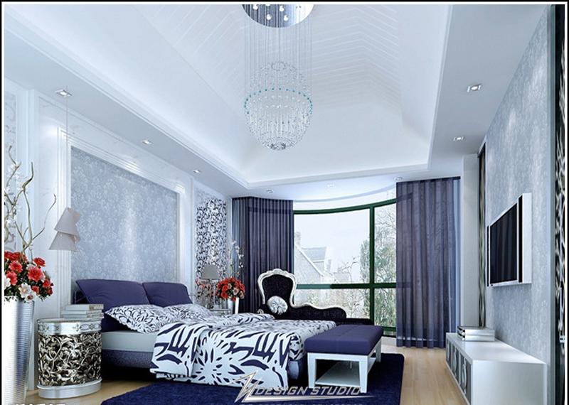 时尚混搭卧室 整套大图展示 简约风格装修效果