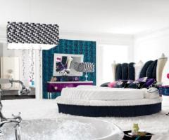 简欧风格的跃层卧室
